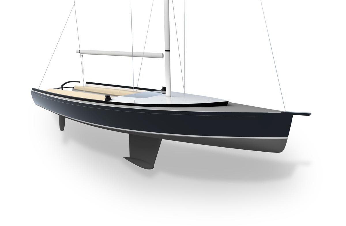 21 Sailboat DAF Renderings - Fwd Quarter