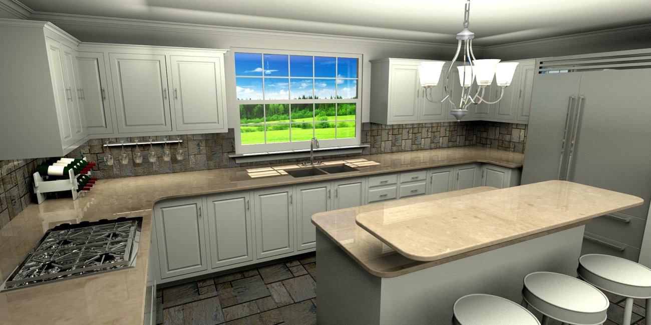 DAF Renderings - Kitchen