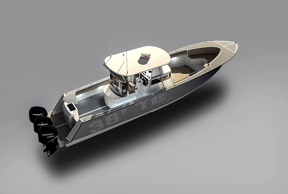 DAF Renderings - 38ft Centerconsole