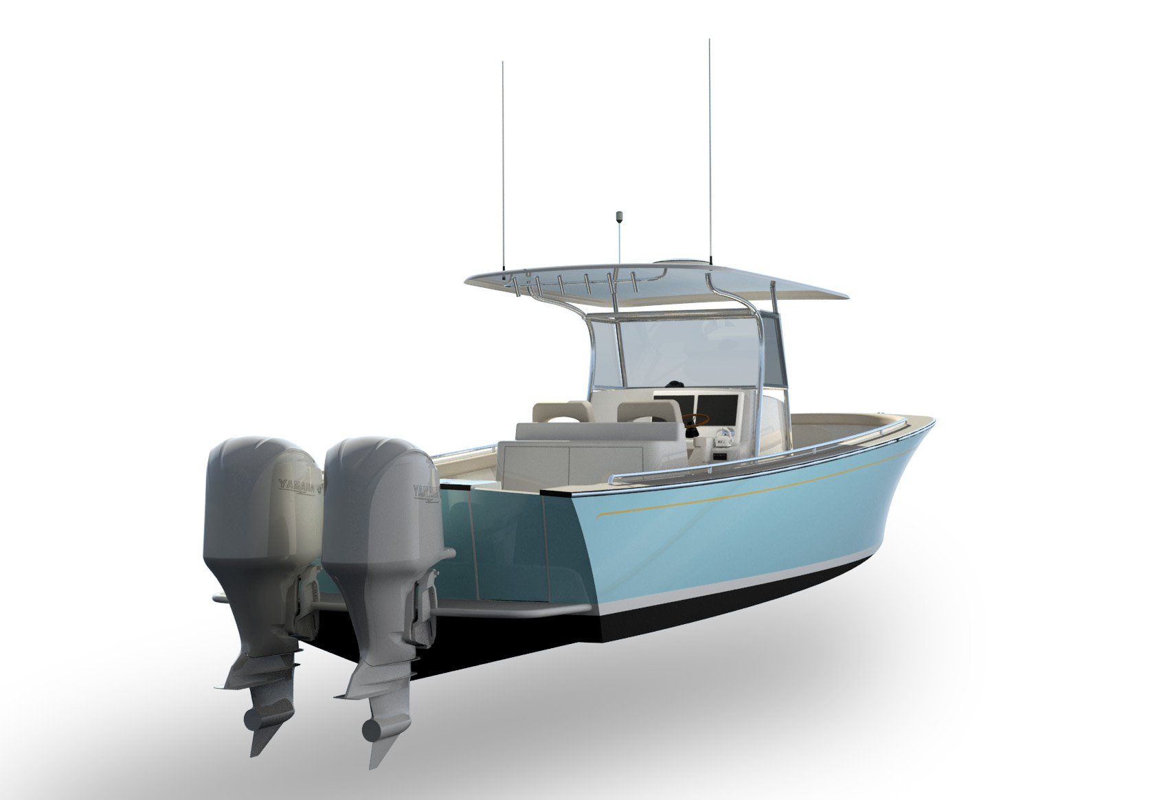 DAF Renderings - 32ft Center Console