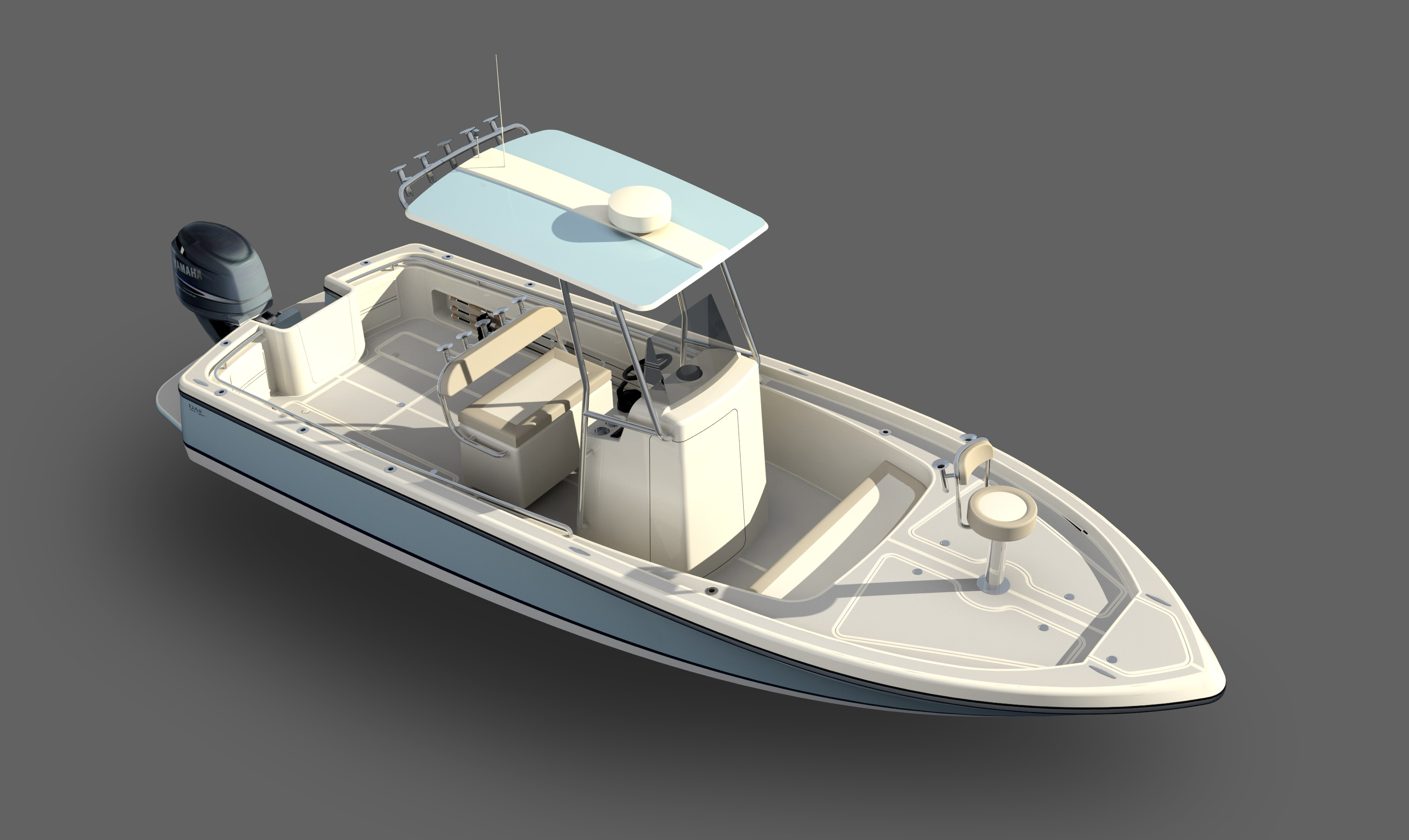 DAF Renderings - Bay Boat